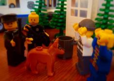 Edinburgh police force builds social media engagement with Lego anti-burglar scenes