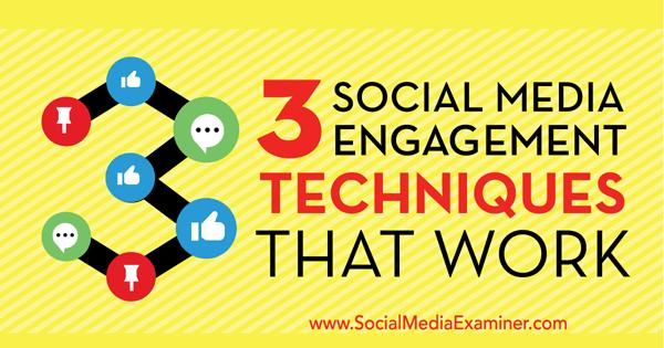 social media engagement techniques